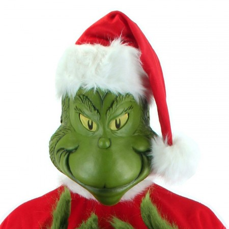 Elope Adult Latex Mask Seuss The Grinch Dr